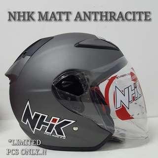 🚚 NHK MATT ANTHRACITE HELMET..🤗!!