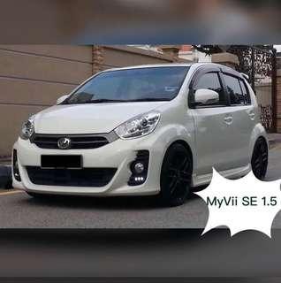 Perodua Myvi 1.5SE Auto car rental