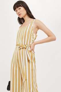 Striped humbug jumpsuit