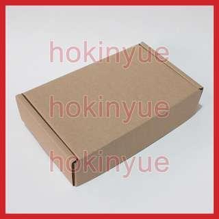 郵寄、整理 紙盒 尺寸 22.5 x 13.5 x 4.8 cm 10個 (未摺成立體)