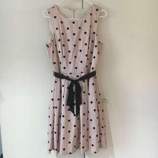 Review Polkadot Dress