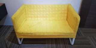 Ikea 2-seat Fabric Sofa, used but in good condition