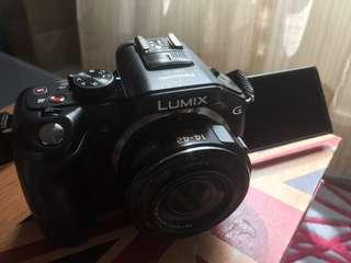 Panasonic LUMIX DMC-G5X 相機連14-42mm Vario 鏡頭