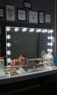 Vanity Mirror Hollywood Professional Malaysia
