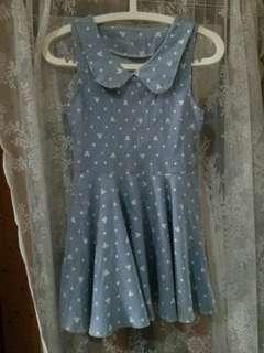 Teens Dress [baby blue]