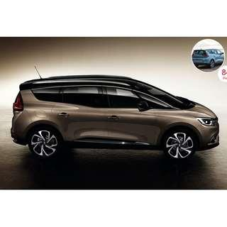 PHV 6 SEATER FOR RENT - BRAND NEW RENAULT GRAND SCENIC Diesel