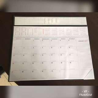 A3 SIZE 2019 CALENDER / PLANERS