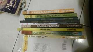 Novel dan komik islamik beli semua rm50