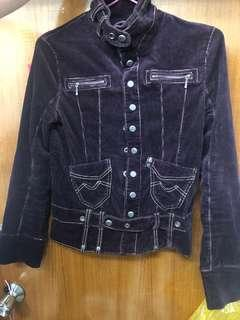 Chevignon 燈芯絨棉外套 corduroy cotton jacket