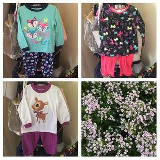 3 For RM20 Pyjamas size 2T