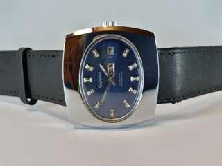 Gigandet ~ hand wind ~ 全新NOS 古董錶, 約40mm, 保存十分良好, 行走正常。