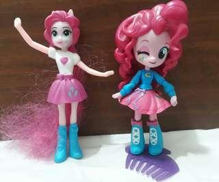 Little pony pinkie pie movable toy