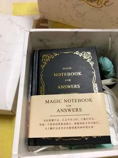 🚚 Magic notebook for answers