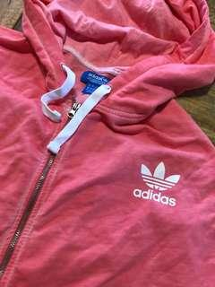 Adidas originals- acid pink jacket