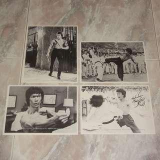 Lot Of 4 Hong Kong Bruce Lee Jeet Kune Do Club Original Photos 1977/78 Enter The Dragon