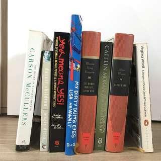 Female writers English language books / book women voice feminist feminism