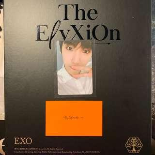 [WTT] EXO BAEKHYUN ELYXION DOT PHOTOCARD