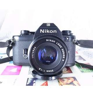 NIKON EM+50mm1.8F餅乾鏡