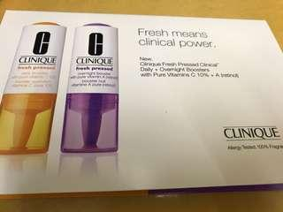 Clinique sample