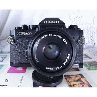 RICOH  XR500 + 55mm/2.8F