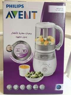 🚚 Philips Avent 4-in-1 food maker - steamer and blender