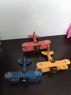 鐵件飛機擺設品
