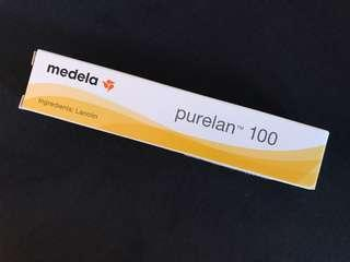 Brand new Medela purelan 100 lanolin / nursing balm 7g