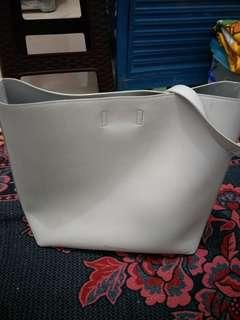 Tas Charles & Keith original Dusty Blue