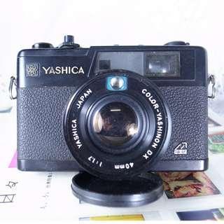 yashica electro 35 CC  40mm/1.7F
