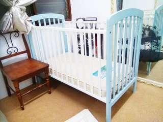 Baby Cot Bedding with Mattress