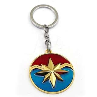 CAPTAIN MARVEL KEYCHAIN AMERICA HULK IRON MAN SPIDERMAN HULKEYE KEY CHAIN CAPTAIN MARVEL