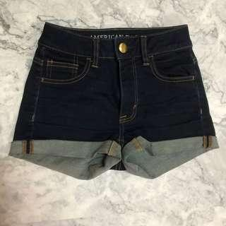 America eagle outfitters 高腰牛仔褲 size 00