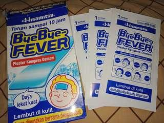 ByeBye Fever 3pcs only