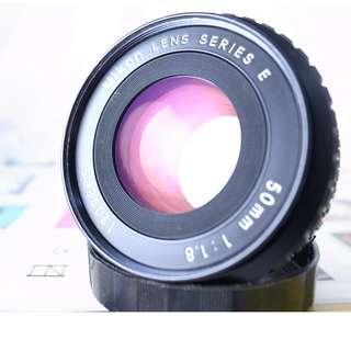 NIKON  50mm/1.8F  餅乾鏡 E鏡