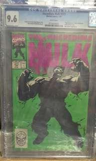 Marvel Comics vintage collectibles classics rare Key issue Hard to find comics graded Cgc 9.6