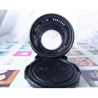 NIKON  50mm/1.4F  ais
