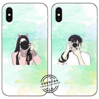 Custom Phone Case: Couple Series
