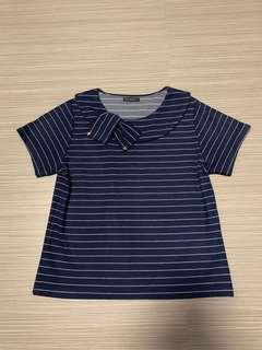🚚 [XL] striped office top