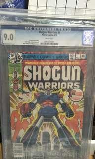 Marvel Comics vintage collectibles classics rare Key issue Hard to find comics graded Cgc 9.0