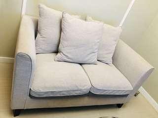 RUSH SALE!!!Dimensione Beige 2 seater Sofa