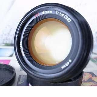 MINOLTA  AF  50mm/1.4F