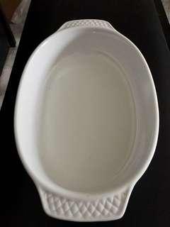 Cordon Blanc Baking dish porcelain white