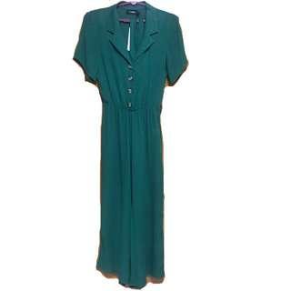 🚚 BN temt miss valley green jumpsuit