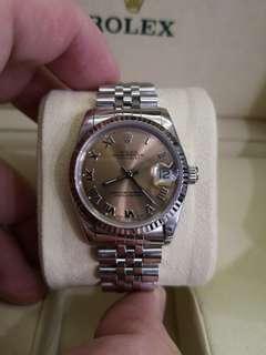Rolex DateJust 68274 Midsize  31mm Automatic