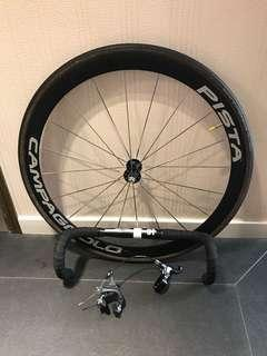 Campagnolo pista front wheel fixed gear