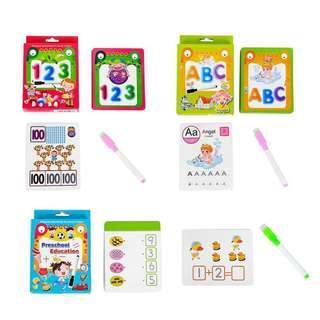 🚚 Preschoolers flashcards ready stock