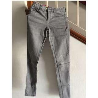 H&M Jean Long Pants (Grey)