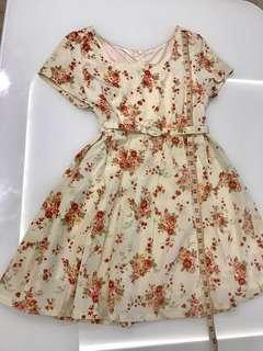 🚚 New Dual Function Floral Dress-Top