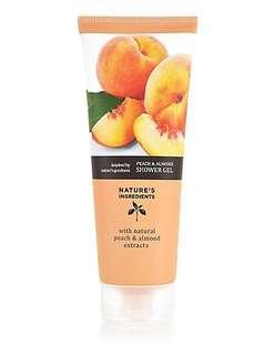 Marks and Spencer Natures Ingredients Peach and Almond Hand Cream 100ml