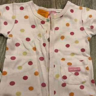 Baby patch romper 3-6mo